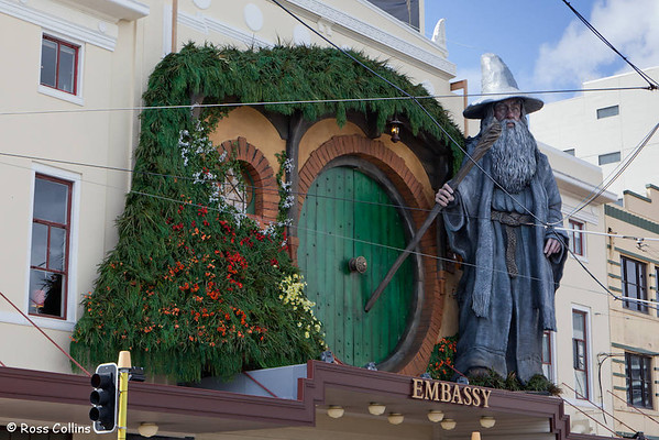 """The Hobbit"" Premiere Diorama 2012"