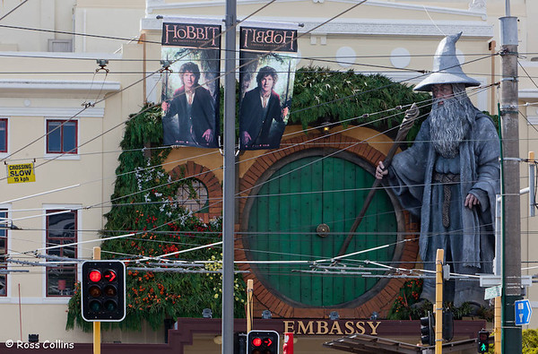 """The Hobbit"" World Premiere Diorama, Embassy Theatre, Wellington, November 2012"