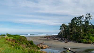 Morning Light, Kalaloch Creek at the Pacific Ocean