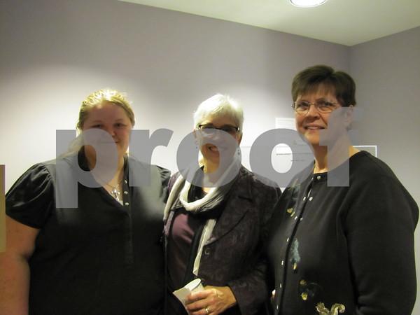 Josie Pahl, Evy Somsen, Studio Coordinator of Hope Sweet Hope, and Ina Tucker