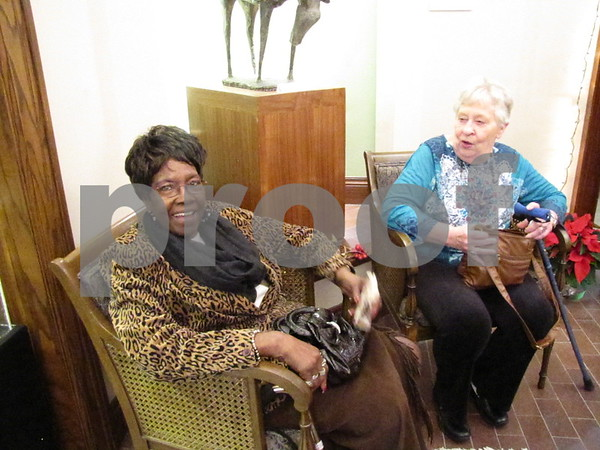 Jane Burleson and Elsa Vass