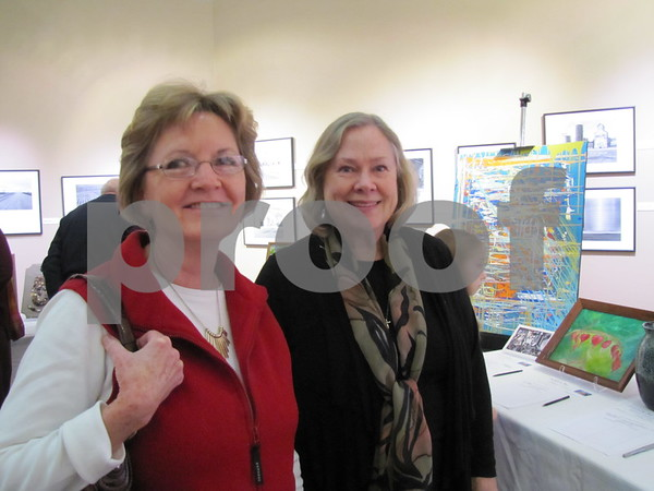 Kathy Meinders and Jean Johnson