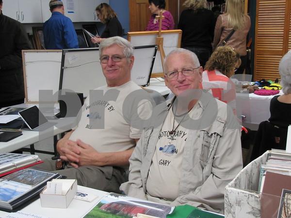 Photographers Bill Keenan and Gary Winch.