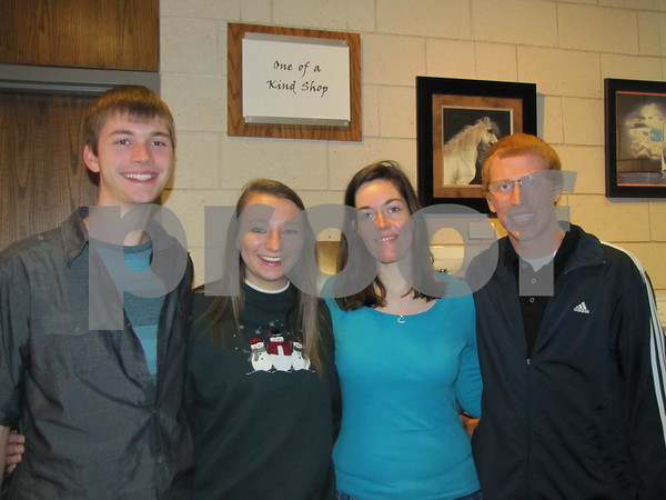 Jake Miller, Nicole Cook, Ashley Stagner, and Nathan Meiners.