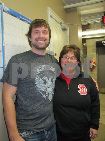 Zach Lind and Joy Thoma