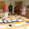 The Sonata Reviewing process (L-R) Mike Beckman-Sweitzer, Grey Bleck,Blair Mathews, Donna Carnes