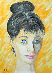 Homage to Joe De Mars - 1959, McCall's, 11x15, gouache & pencil, july 20, 2016.
