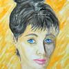 Homage to Joe De Mars, 11x15, gouache & pencil, july 20, 2016 DSCN0167