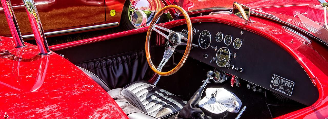 427 Shelby Cobra Cockpit # 4133
