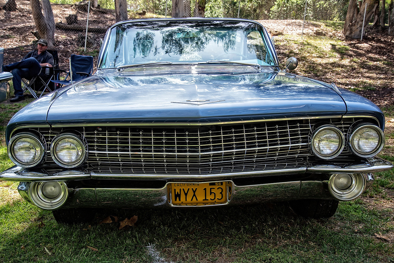1956 Light Blue Cadillac Deville