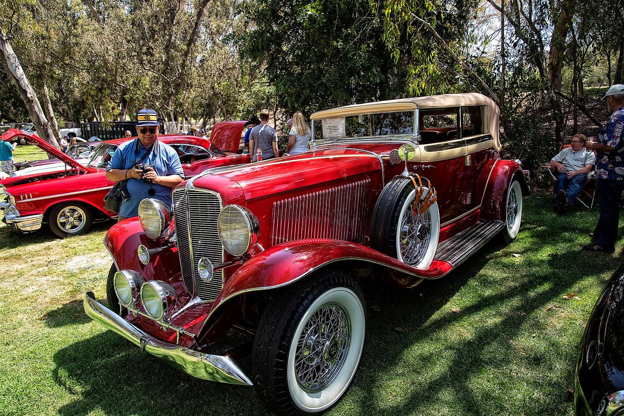 Vintage 1934 Auburn V-12