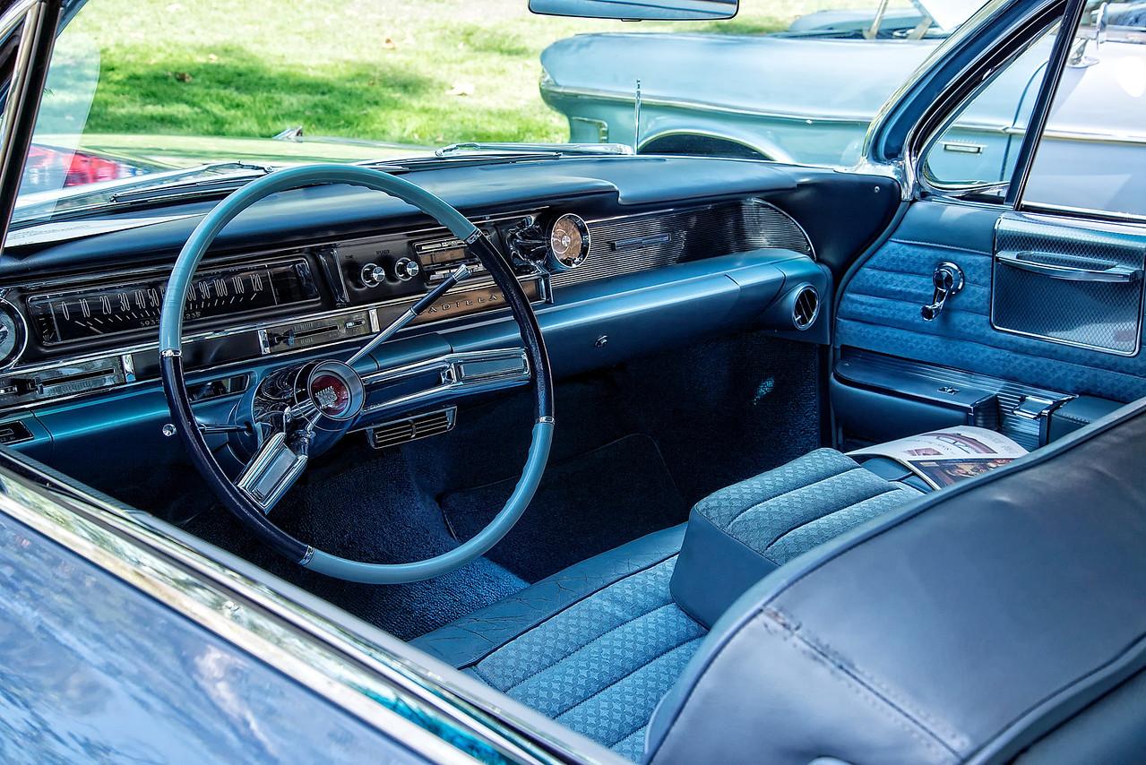 Light Blue Cadillac