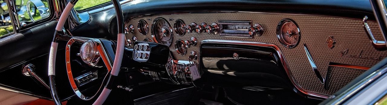 1956 Cockpit2 Packard Caribbean