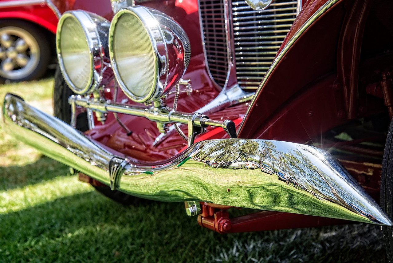 1934 Auburn Headlights & Bumper