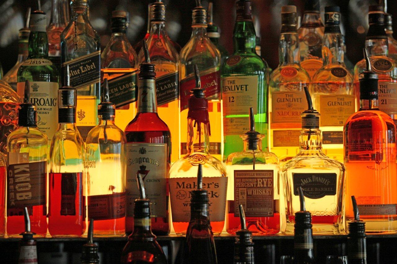 Bottles, liquor 7482