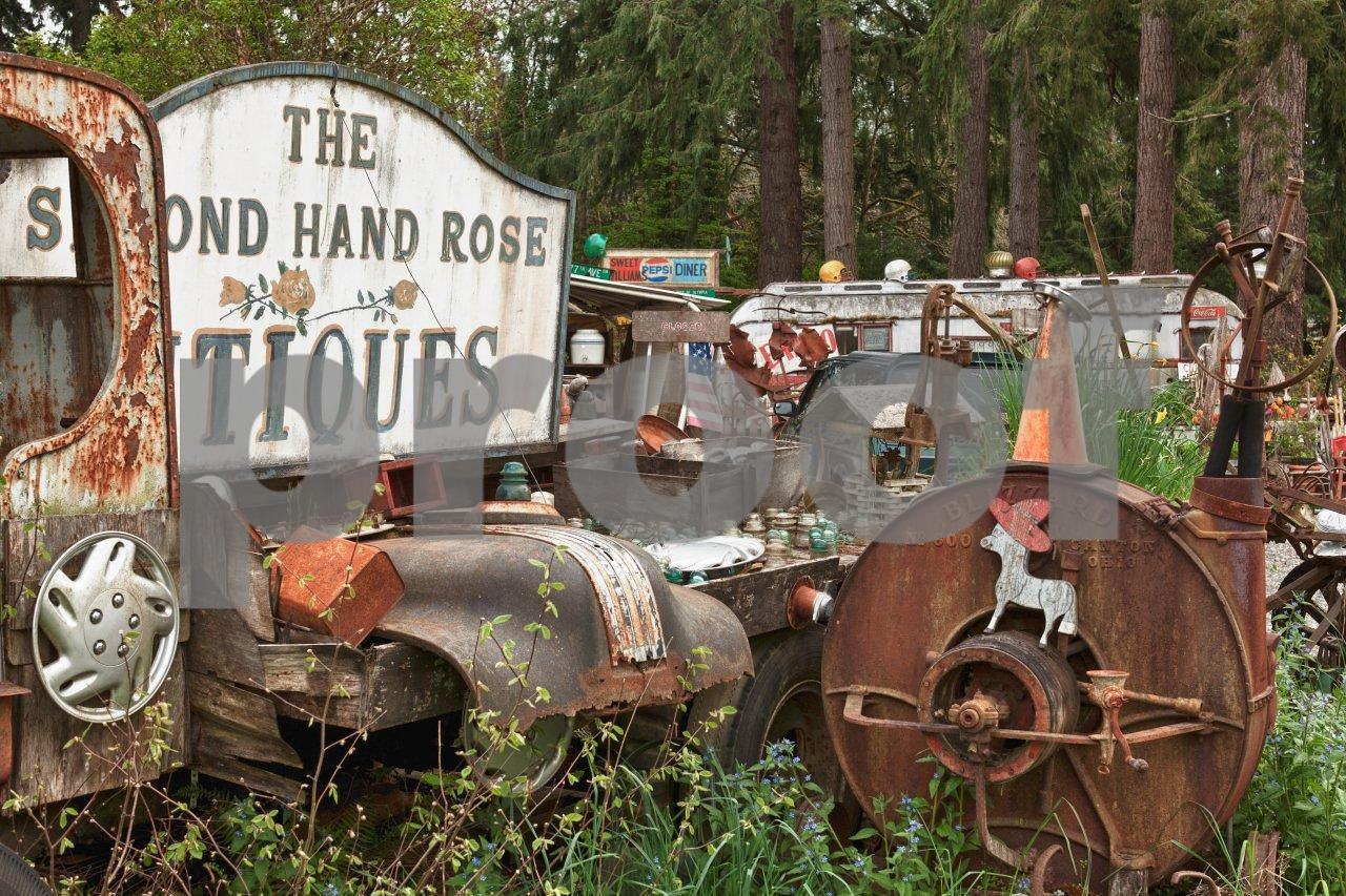 Second Hand Rose antiques store, Olympia, WA