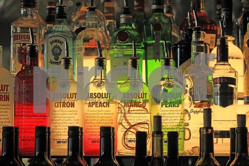 Bottles, liquor 7474