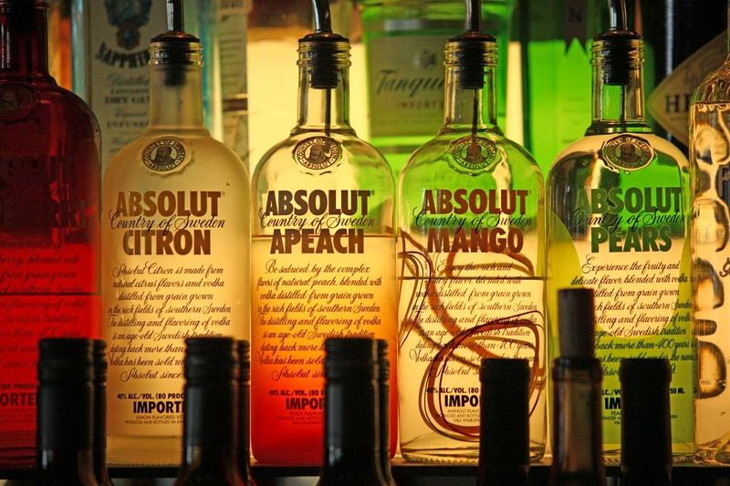 Bottles, liquor 7477