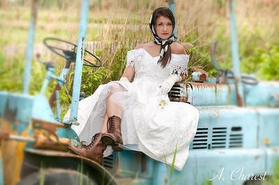 La mariée au champ