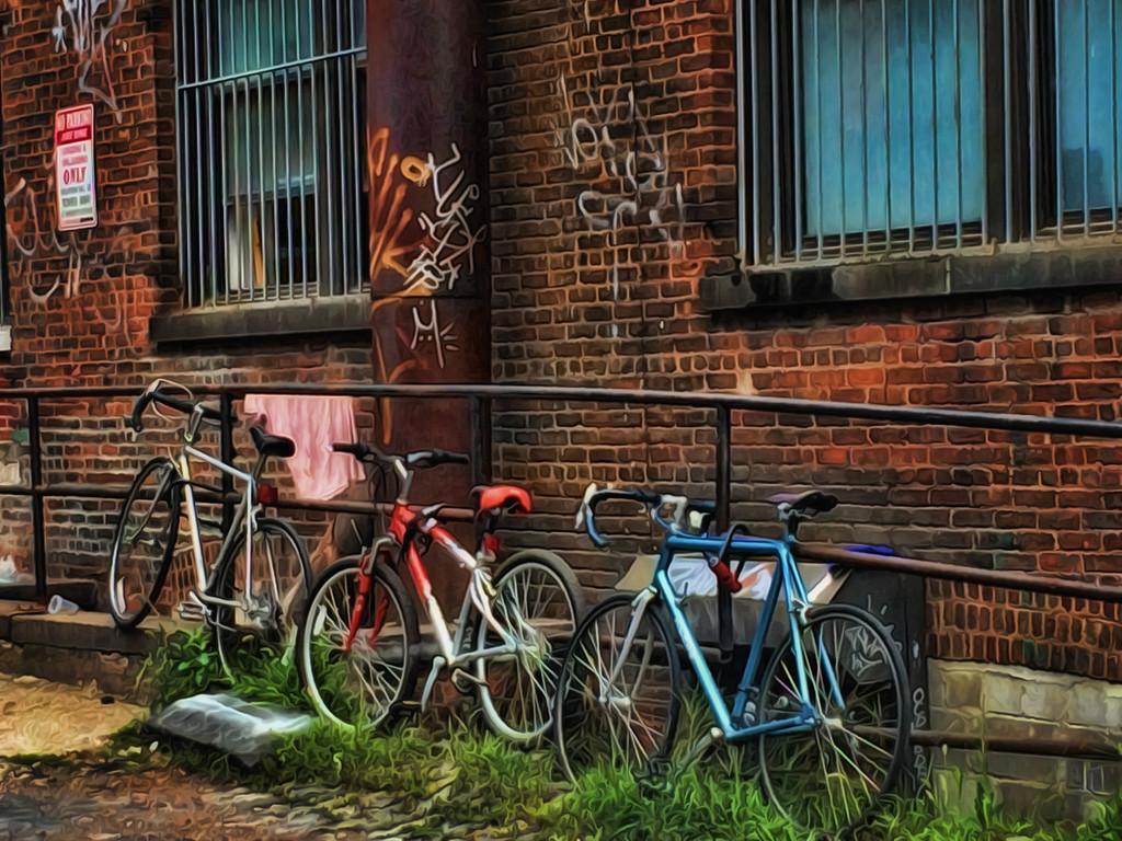 Three Bikes