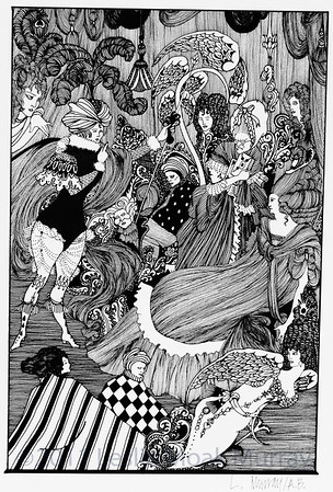Homage to Aubrey Beardsley