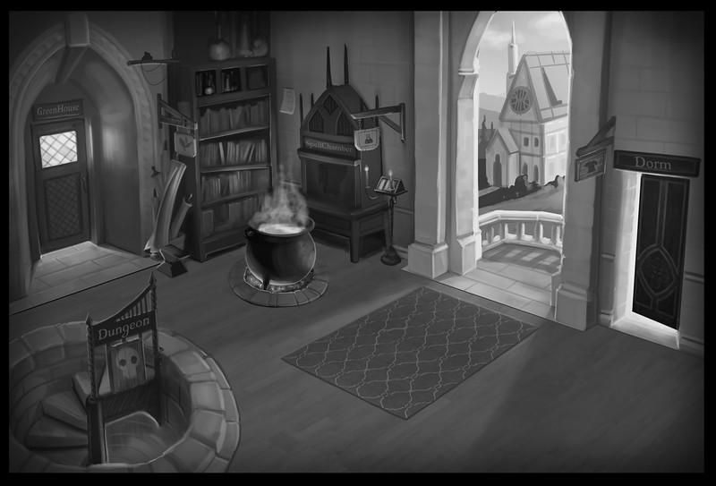 Value Study Concept for SpellCraft Game Hub.