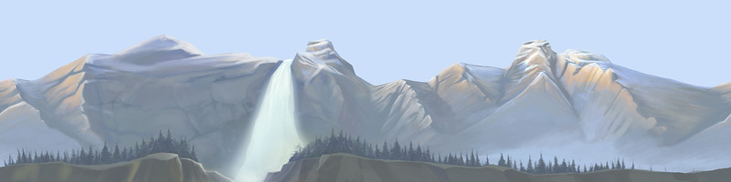 Back Ground Matte Painting for Nuts!