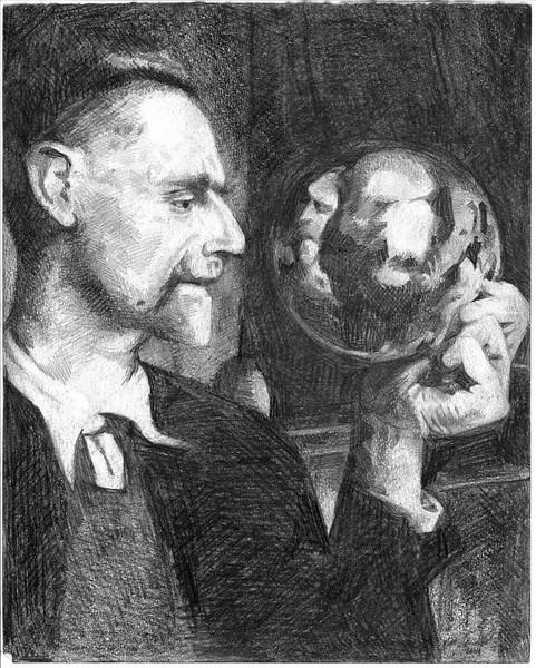 Drawing of Escher