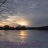 Sunset on Spy Pond, Arlington
