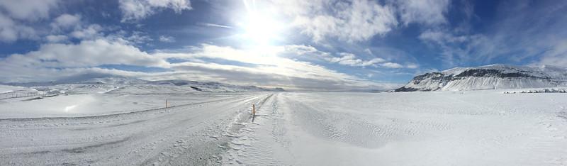 Enroute to Mount Hekla