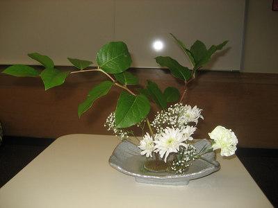 Ikebana class