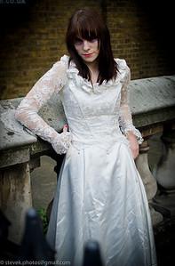 Miss Havisham aka Lucy Sparrow   (www.sewyoursoul.co.uk)