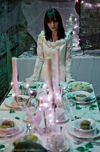 Miss Havisham aka Lucy Sparrow   www.sewyoursoul.co.uk