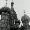The crown of St. Basil's Church in Moscow, Russia situated on Red Square.  (Jenni Farrow) (old scan from negative, can be re-scanned)