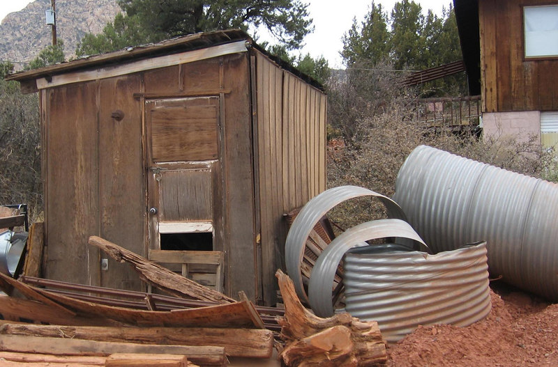 Old Shed at Earl's Rockery in Sedona, AZ
