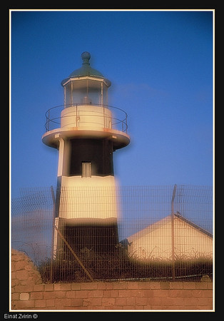 Old Acre Lighthouse Israel