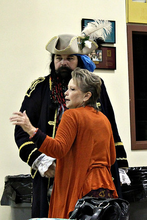 Black Beard and Marcia Pugh