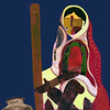 Abstract Dark Woman Series