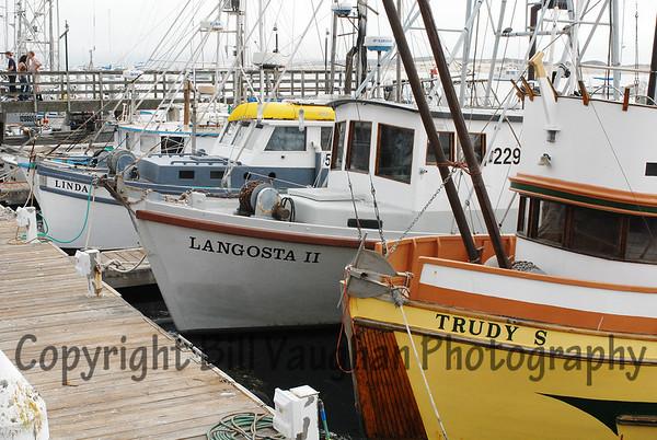 Fishing Boats in Morro Bay, Ca.