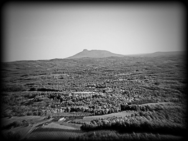 Pilot Mtn. from the Blue Ridge Parkway