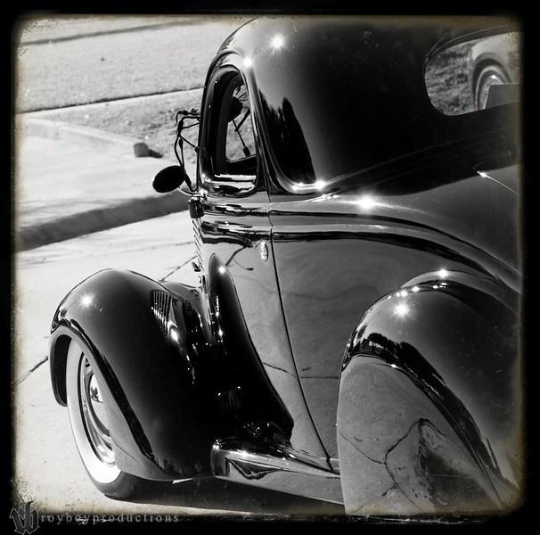 Black & White again from the KKOA Hotrodding Hullabaloo in Denison, TX