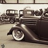 Kevin Anderson's immaculate #36Ford at the #ironinvasion the show is in Woodstock, IL on Oct.12th #kustom #carshow #whitewalls