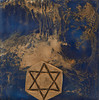 "Star of David <br /> Also known as the Shield of David. The double triangle of the Star of David (Magen David) symbolizes the connection of dimensions of God, Torah and Israel: His seven ""emotional"" attributes or spiritual building blocks. Accordingly, the entire creation is a reflection of these seven foundational attributes. They are kindness, severity, harmony, perseverance, splendor, foundation and royalty."