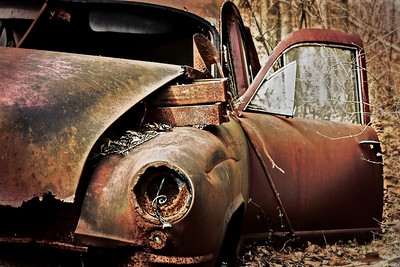 Rusted Old Car