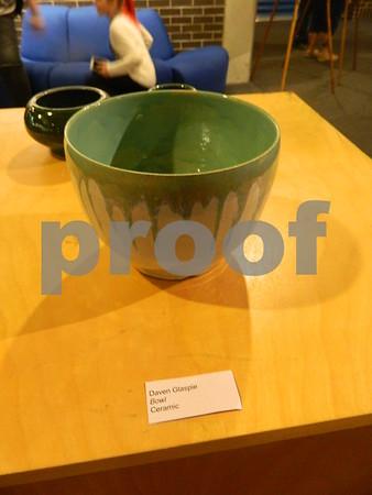 A ceramic Bowl by Daven Glaspie
