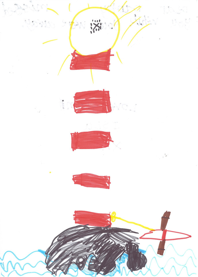 Lighthouse Isla aged 6