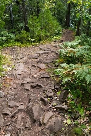Stony Hunter's Point Trail, Copper Harbor, Michigan