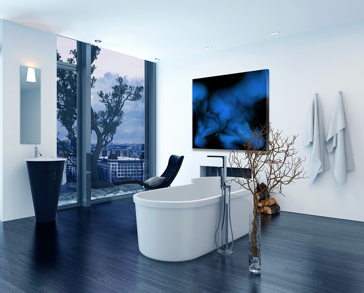 Modern contemporary luxury bathroom interior