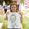 Corolle Hosts Adopt-a-Doll Event and Transforms The Grove into a Parisian Park In Honor of Baby Buggy Caricature by James Malia