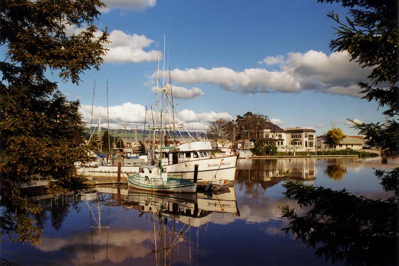 Petaluma Basin Boats